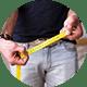 Увеличение объема на +2-3 см и длины – до +5 см.