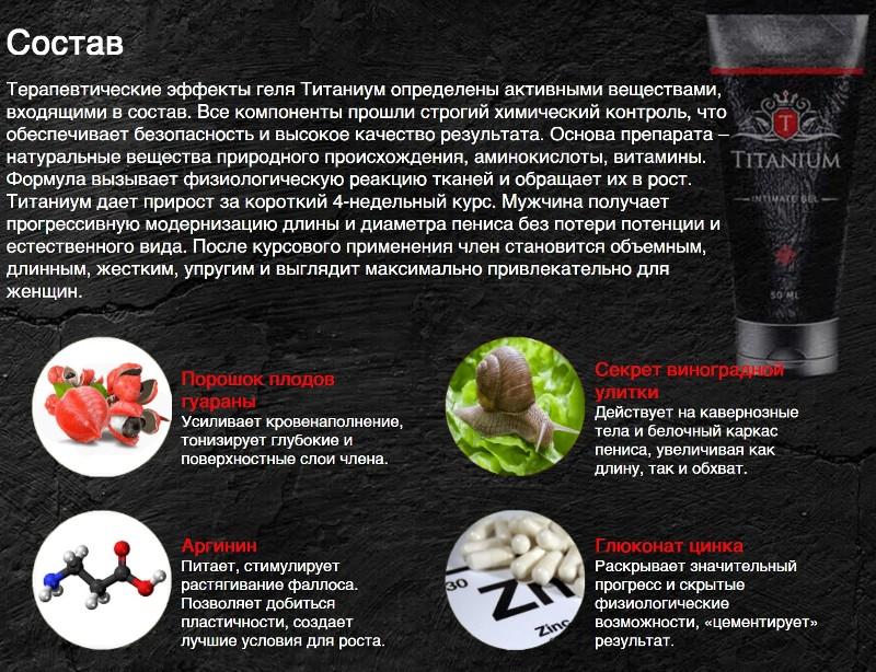 Состав Titanium gel