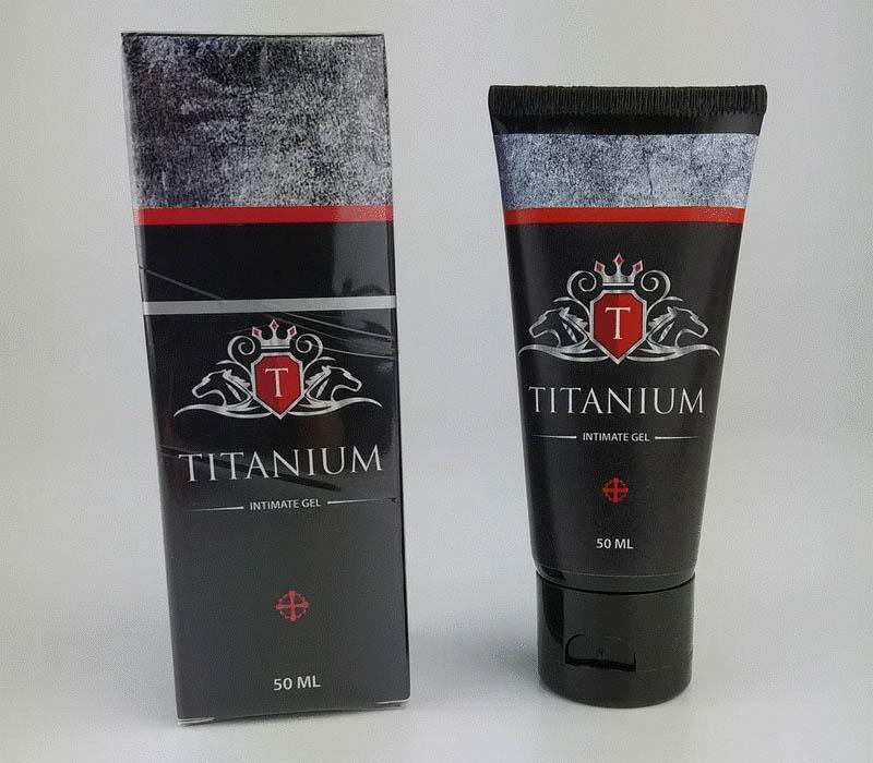 Титаниум гель купленный на официальном сайте производителя
